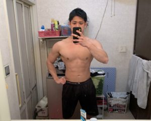 長沢トレーナーの100kg時の写真